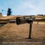 Solar Wi-Fi Security Camera