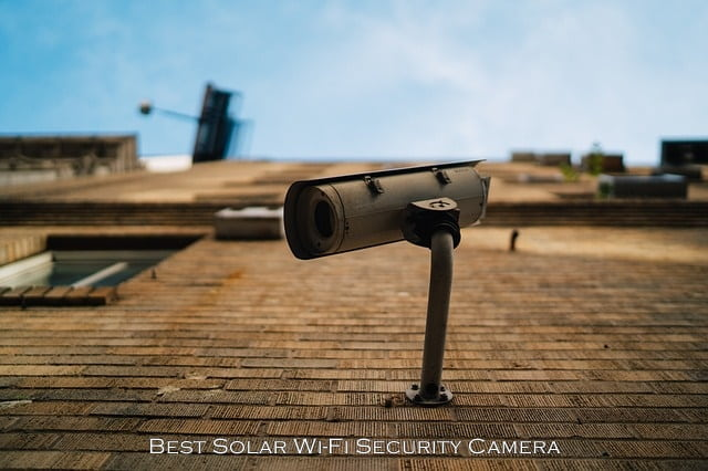 Solar Wi-Fi Security Camera
