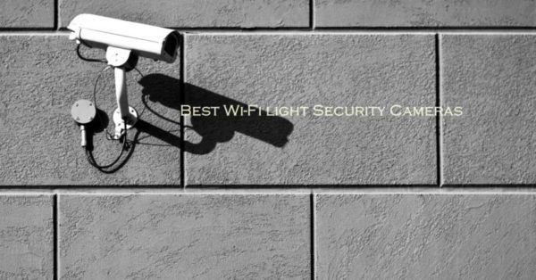 WiFi light Security Cameras
