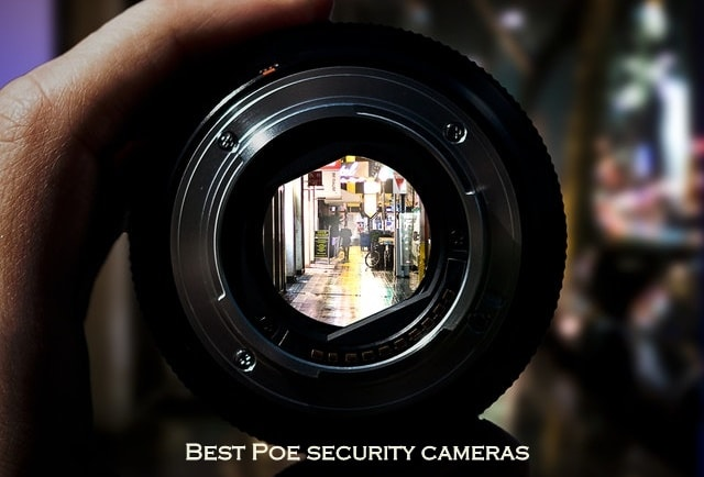 poe security cameras system