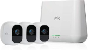 security camera with two-way audio